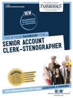 Senior Account Clerk-Stenographer