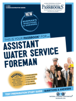 Assistant Water Service Foreman