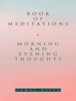 Book of Meditations & Morning and Evening Thoughts