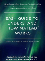 Easy Guide to Understand How MATLAB Works