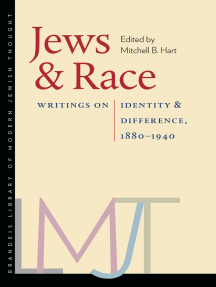 Jews and Race: Writings on Identity and Difference, 1880–1940