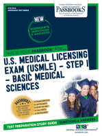 U.S. MEDICAL LICENSING EXAM (USMLE) STEP I – Basic Medical Sciences