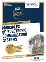 PRINCIPLES OF ELECTRONIC COMMUNICATION SYSTEMS: Passbooks Study Guide