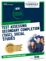 Test Assessing Secondary Completion (TASC), Social Studies