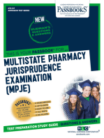 MULTISTATE PHARMACY JURISPRUDENCE EXAMINATION (MPJE)