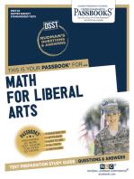 DSST Math for Liberal Arts