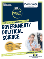 GOVERNMENT/POLITICAL SCIENCE