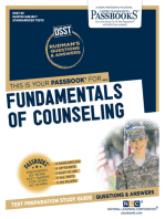 FUNDAMENTALS OF COUNSELING