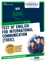 TEST OF ENGLISH FOR INTERNATIONAL COMMUNICATION (TOEIC)