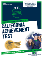 CALIFORNIA ACHIEVEMENT TEST (CAT)