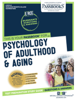PSYCHOLOGY OF ADULTHOOD & AGING