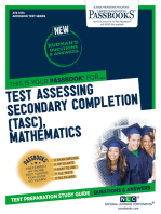 Test Assessing Secondary Completion (TASC), Mathematics