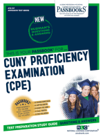 CUNY Proficiency Examination (CPE)