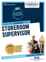 Storeroom Supervisor