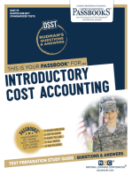 INTRODUCTORY COST ACCOUNTING