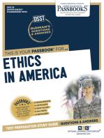 ETHICS IN AMERICA