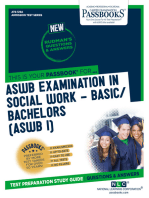 ASWB EXAMINATION IN SOCIAL WORK - BASIC/BACHELORS (ASWB/I)