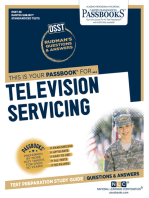 TELEVISION SERVICING