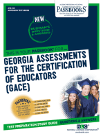 Georgia Assessments for the Certification of Educators (GACE®)