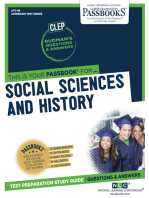 SOCIAL SCIENCES AND HISTORY