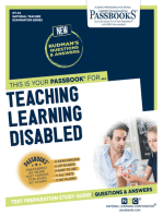 TEACHING LEARNING DISABLED