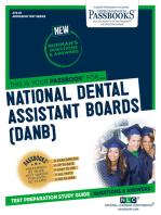 NATIONAL DENTAL ASSISTANT BOARDS (DANB)
