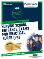 NURSING SCHOOL ENTRANCE EXAMINATIONS FOR PRACTICAL NURSES (PN)