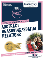 ABSTRACT REASONING / SPATIAL RELATIONS