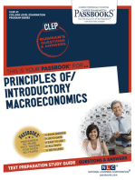 INTRODUCTORY MACROECONOMICS (PRINCIPLES OF)