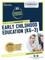 EARLY CHILDHOOD EDUCATION (KG.-3)