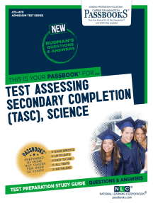 Test Assessing Secondary Completion (TASC), Science: Passbooks Study Guide