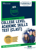 COLLEGE LEVEL ACADEMIC SKILLS TEST (CLAST)