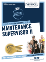 Maintenance Supervisor II