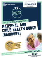 MATERNAL AND CHILD HEALTH NURSE