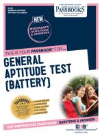 GENERAL APTITUDE TEST (BATTERY): Passbooks Study Guide