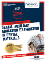 DENTAL AUXILIARY EDUCATION EXAMINATION IN DENTAL MATERIALS
