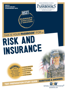 RISK AND INSURANCE: Passbooks Study Guide