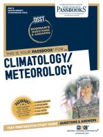 CLIMATOLOGY/METEOROLOGY