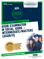 ASWB EXAMINATION IN SOCIAL WORK – INTERMEDIATE/MASTERS (ASWB/II)