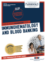 IMMUNOHEMATOLOGY AND BLOOD BANKING