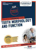 DENTAL AUXILIARY EDUCATION EXAMINATION IN TOOTH MORPHOLOGY AND FUNCTION