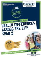 Health Differences Across the Life Span 2