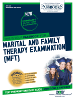 MARITAL AND FAMILY THERAPY EXAMINATION (MFT)