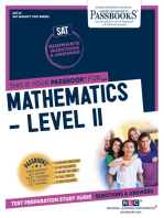 MATHEMATICS - LEVEL II