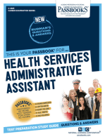 Health Services Administrative Assistant