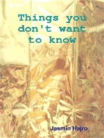 Things you don't want to know