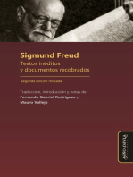 Sigmund Freud: Textos inéditos y documentos recobrados