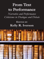 From Text to Performance