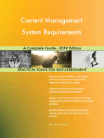 Content Management System Requirements A Complete Guide - 2019 Edition