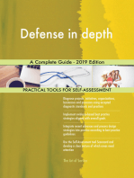 Defense in depth A Complete Guide - 2019 Edition